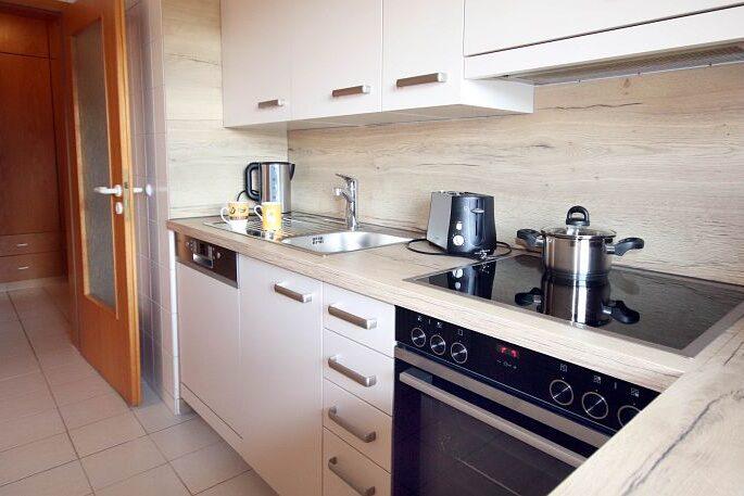 Ferienwohnung Wiesenblick - Küche