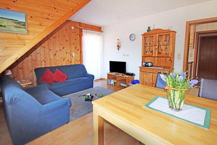 Ferienwohnung Gartenblick - Wohnzimmer