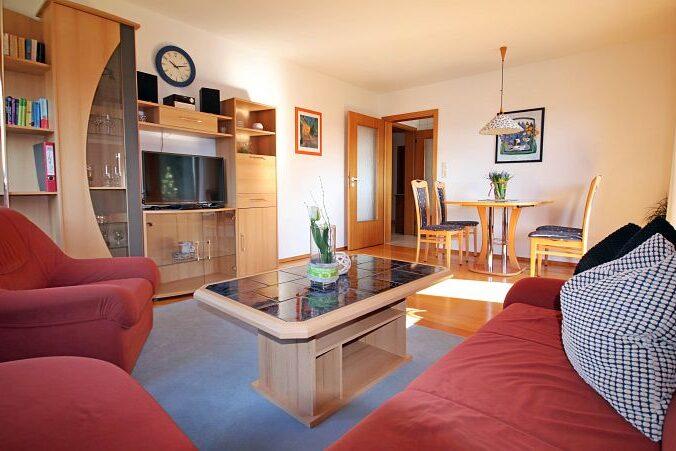 Ferienwohnung Wiesenblick - Wohnzimmer