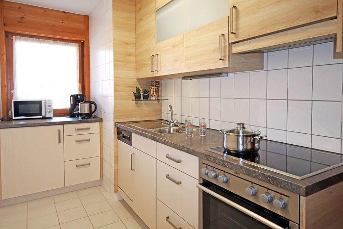 Ferienwohnung Gartenblick - Küche